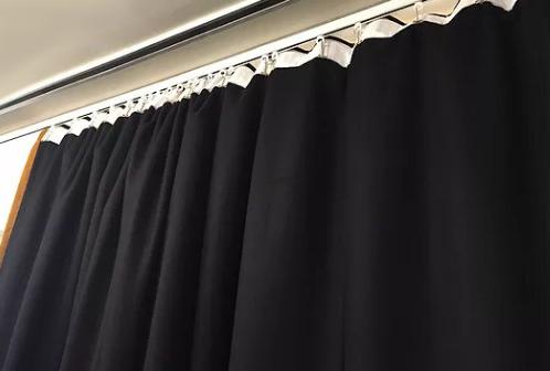 cortinas de absorción acústica ignifugas