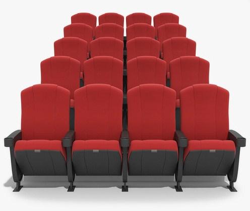 Butacas específicas para cines
