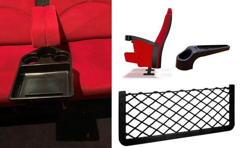 accesorios para butacas de cines