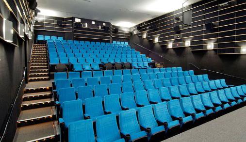 Butacas eficientes acusticamente para cines