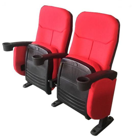 Butacas para Cines fabricadas con tapicerías ignífugas y asiento retráctil automatic