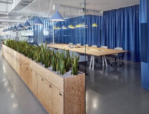 cortinas acústicas confeccionadas para oficinas