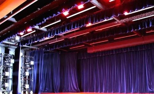 telones para teatros motorizados