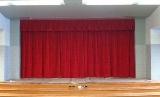 telón principal de un teatro