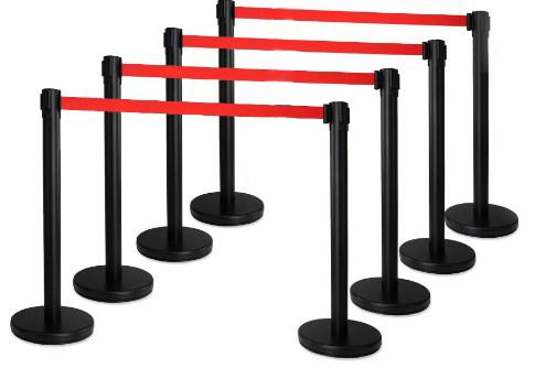 postes separadores para eventos