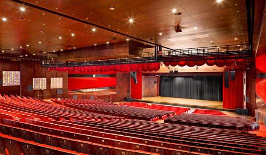 acondicionamiento acústico en auditorios