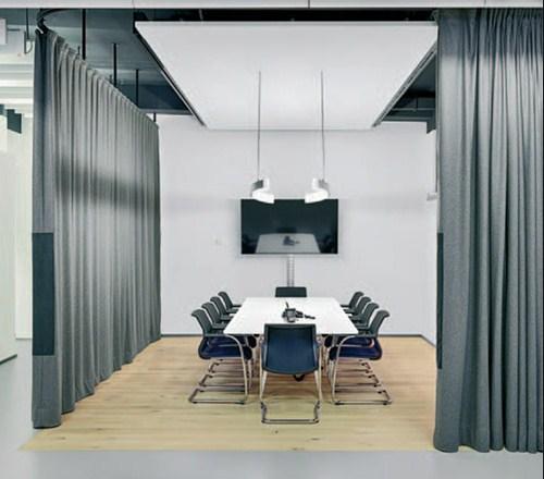 beneficios de las cortinas acústicas