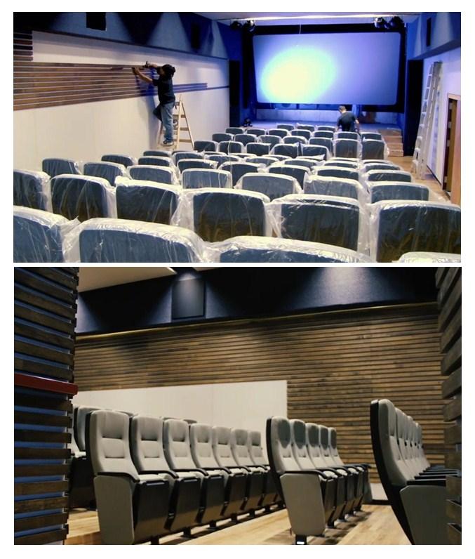 fabricación e instalación de butacas para cines