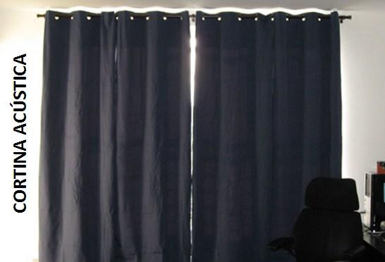 cortinas acústicas