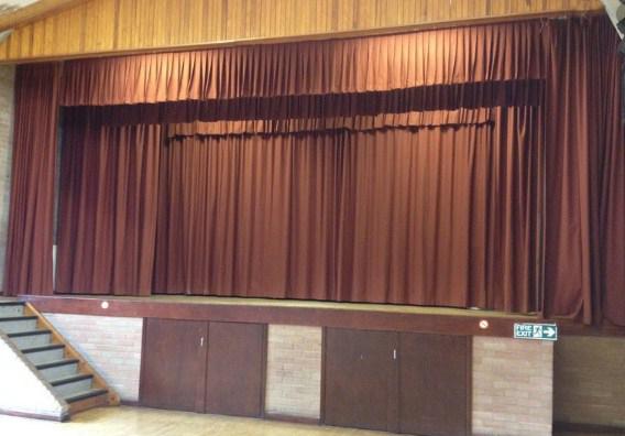 telones para teatros en colegios