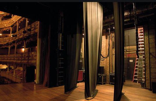 informacion de telones para teatros