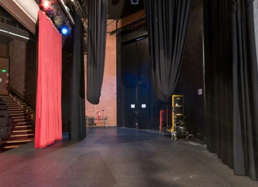 telones de fondo y patas laterales para teatros