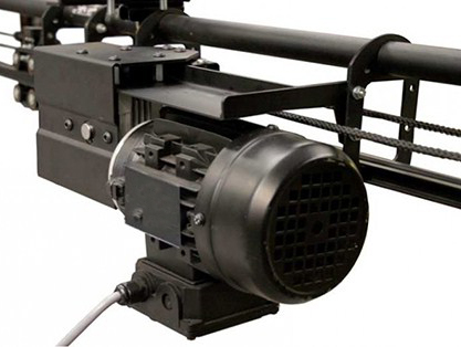 motores sm2000 para la apertura de telones para teatros en americana